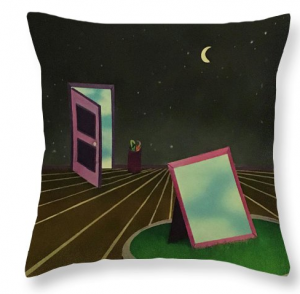 One of two throw pillows that would look awesome on a couch! This one is called 'Night'.
