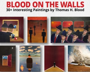 Blood On The Walls is the aptly named title of my upcoming solo art show at 1900 Park - Creative Space and Gallery.