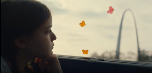 One of the scenes from a new VW Atlas commercial using Simon & Garfunkel's 'America' song.
