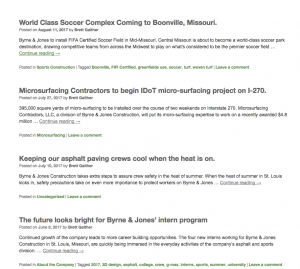 Thought leadership articles and profiles of projects are now regularly posted via the Byrne & Jones blog.