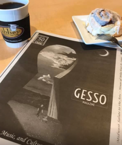 'Key To Success', one of my recent paintings, graces the cover of the September 2019 issue of Gesso Magazine.