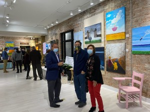 The show at Good Weather Gallery will be on display until January 9, 2021